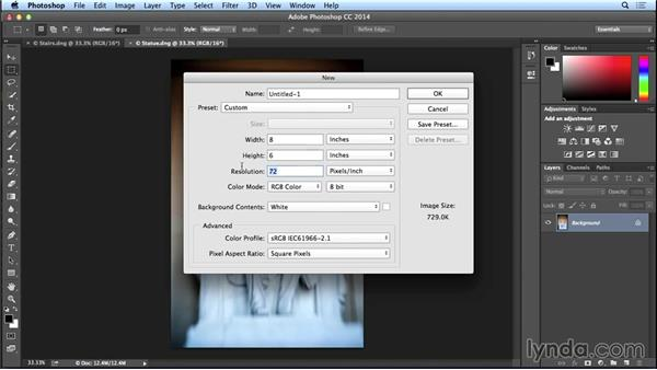 How to create a diptych in Photoshop: Introduction to Photo Compositing