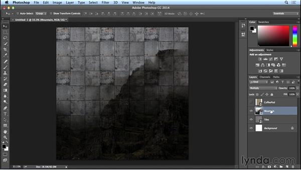 Applying multiple textures: Introduction to Photo Compositing