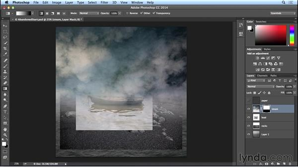 Combining the background images: Introduction to Photo Compositing