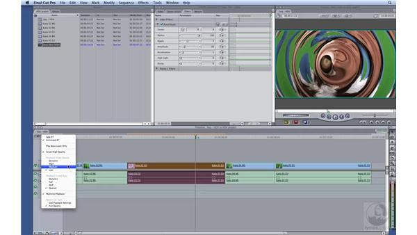 Improving perfomance while editing: HD Workflows with Final Cut Studio 2