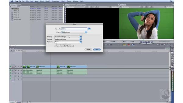 Exporting: HD Workflows with Final Cut Studio 2