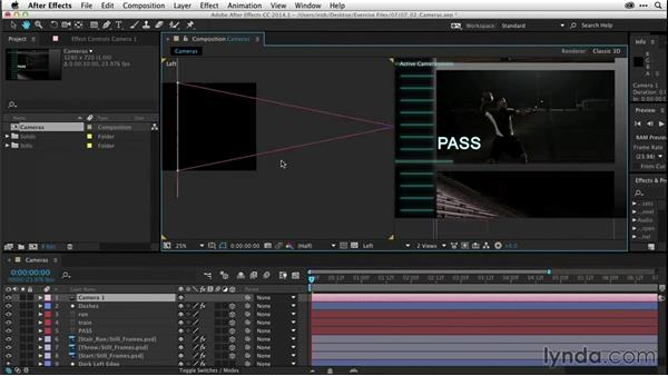 Intro to cameras (CC 2014.1): After Effects CC Essential Training
