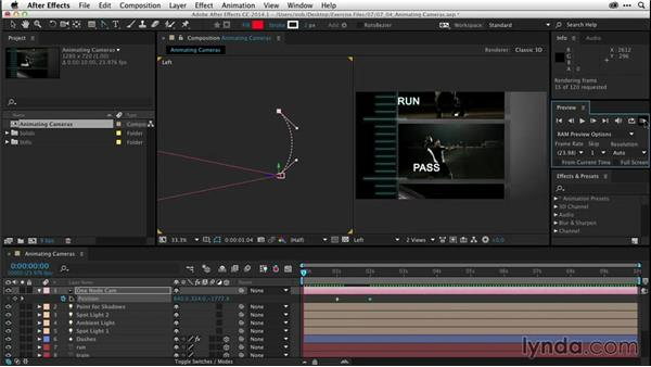 Animating cameras (CC 2014.1): After Effects CC Essential Training