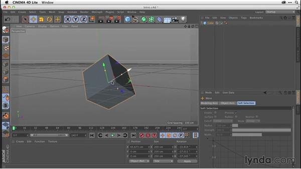 Understanding the CINEMA 4D Lite interface (CC 2014.1): After Effects CC Essential Training