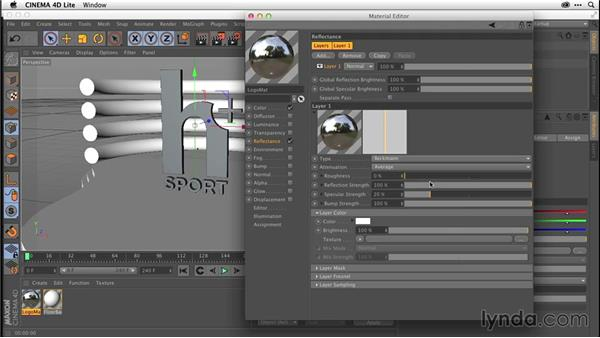 Understanding materials (CC 2014.1): After Effects CC Essential Training