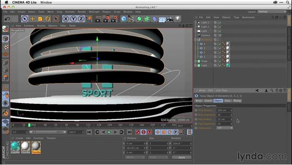 Animating in CINEMA 4D Lite (CC 2014.1): After Effects CC Essential Training