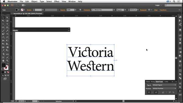 Looking beyond twenty-six letters: Logo Design Techniques