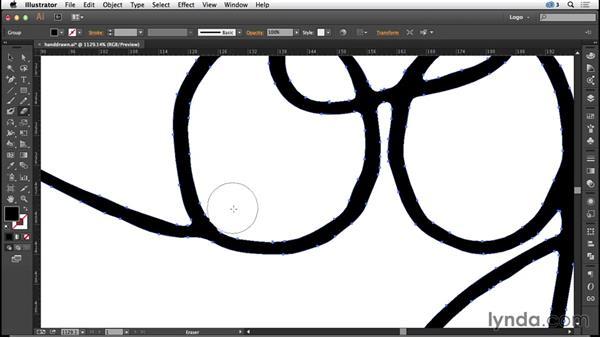 Creating a handwritten logo: Logo Design Techniques