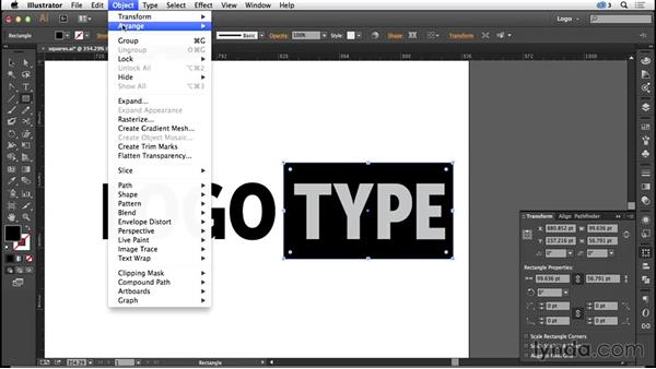 Squares and rectangles: Logo Design Techniques