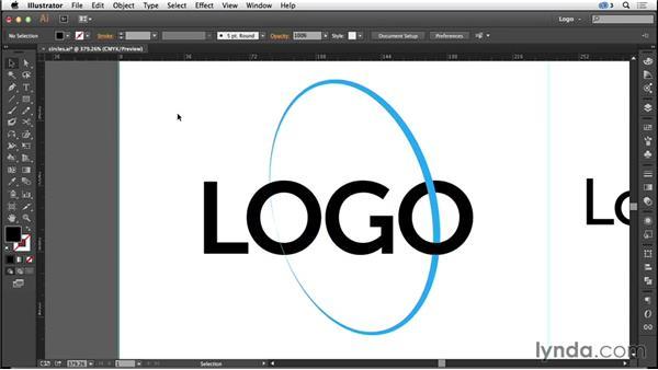 Circles and ellipses: Logo Design Techniques