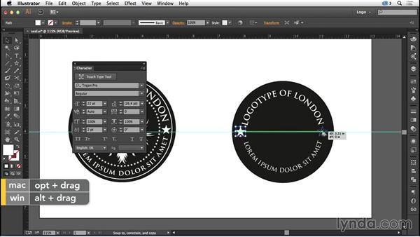 Designing a seal logo: Logo Design Techniques