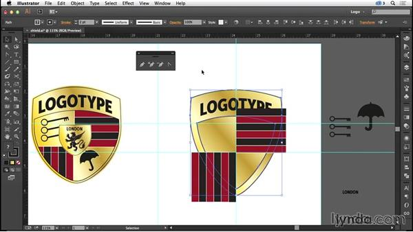 Designing a shield logo: Logo Design Techniques