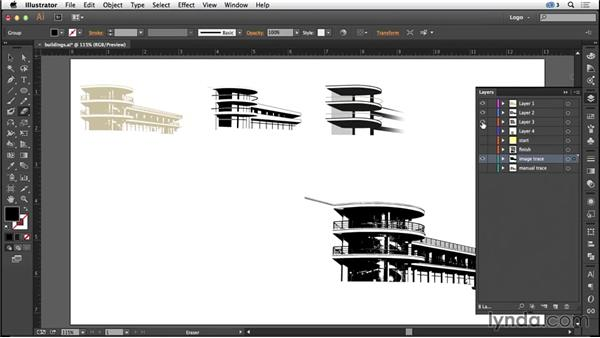 Designing with architecture-inspired imagery: Logo Design Techniques