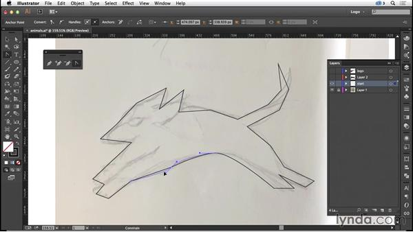 Line Art Converter Software : Designing with animal inspired imagery