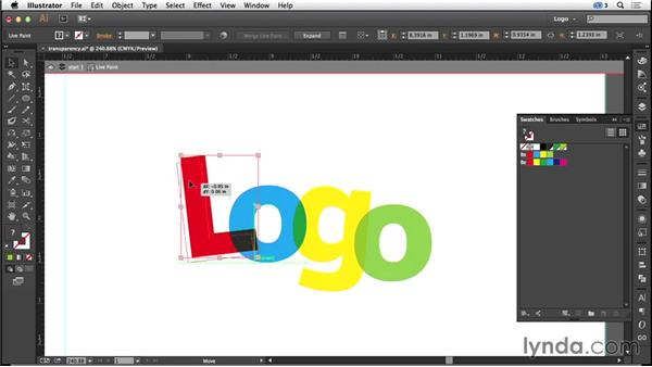 Working with transparency: Logo Design Techniques