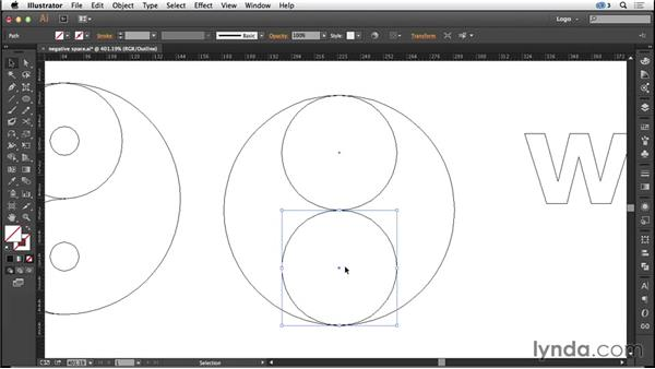 Designing with negative space: Logo Design Techniques