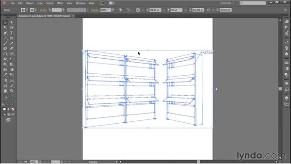 Importing files from SketchUp: Adobe Illustrator: Working with AutoCAD Files