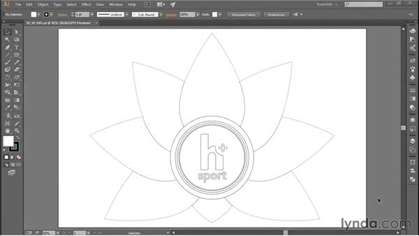 Using scalable vector graphics (SVG): Adobe Illustrator: Working with AutoCAD Files