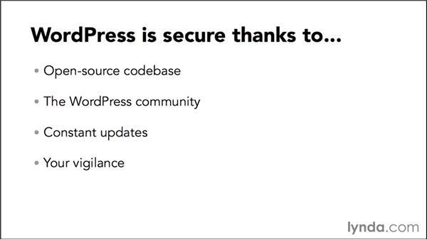 WordPress is secure: WordPress Developer Tips: Locking Down WordPress