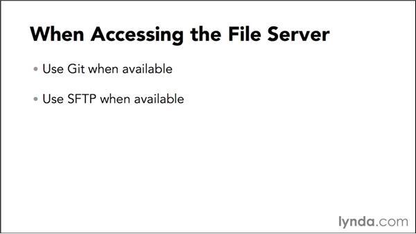 Server access: Best practices: WordPress Developer Tips: Locking Down WordPress