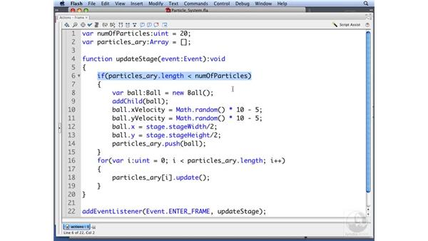 Creating a particle system: ActionScript 3.0: Building Particle Systems