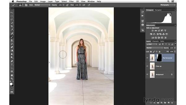 Welcome: Portrait Project: Enhancing an Environmental Portrait of a Model