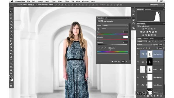 Removing the yellow cast: Portrait Project: Enhancing an Environmental Portrait of a Model