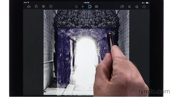 Using masking brushes in Juxtaposer: Creating Photo Composites on Smartphones and Tablets