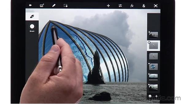 Using layer blend modes in Photoshop Touch: Creating Photo Composites on Smartphones and Tablets