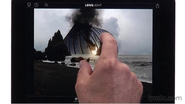 Using LensLight to tie it all together: Creating Photo Composites on Smartphones and Tablets