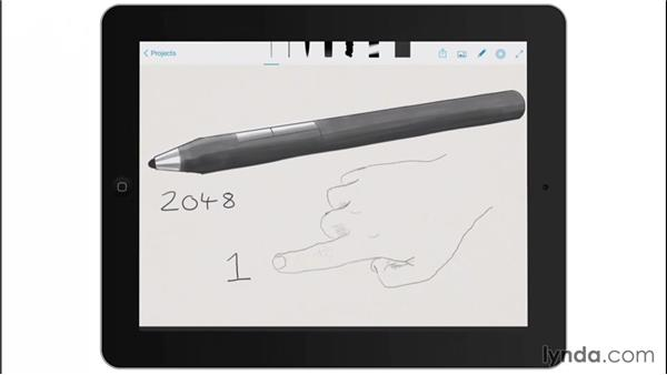 Your native tools vs. the stylus: Drawing on the iPad with Adobe Sketch
