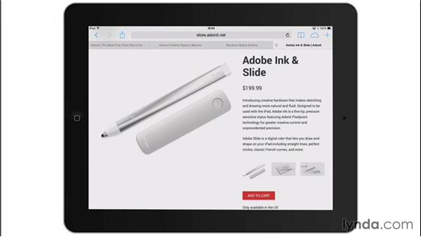 Adobe's own hardware: Drawing on the iPad with Adobe Sketch