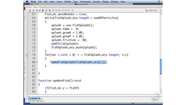 Recycling particles: ActionScript 3.0: Building Particle Systems