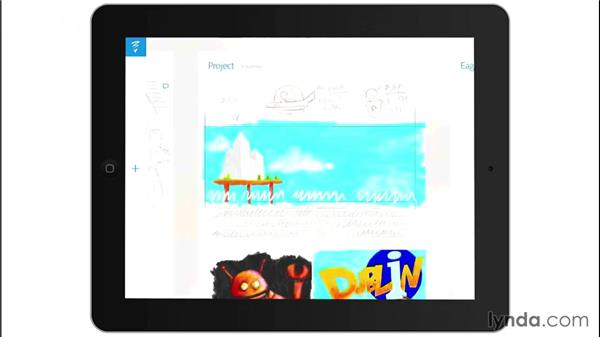 Projects: Drawing on the iPad with Adobe Sketch