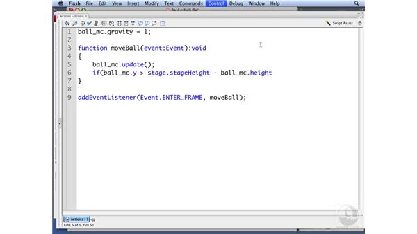 Using position-based collision detection: ActionScript 3.0: Building Particle Systems