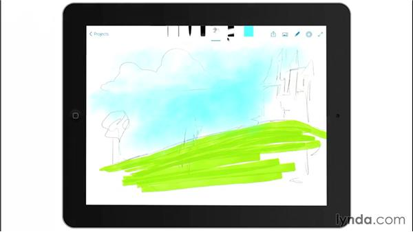 Brushes: Drawing on the iPad with Adobe Sketch