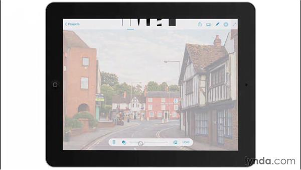 Adding reference images: Drawing on the iPad with Adobe Sketch
