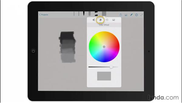 The Color Wheel: Drawing on the iPad with Adobe Sketch
