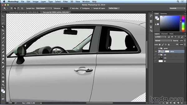 Adding effects in car windows: Bert Monroy: The Making of Amsterdam Mist, the Vehicles