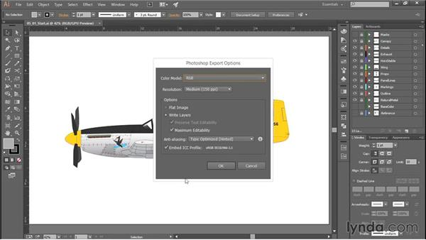Export to Photoshop: Creating Aircraft Profiles with Adobe Illustrator and Photoshop