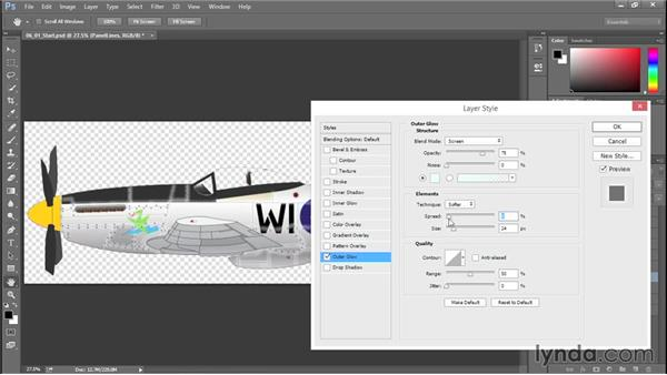 Adding depth to panel lines: Creating Aircraft Profiles with Adobe Illustrator and Photoshop