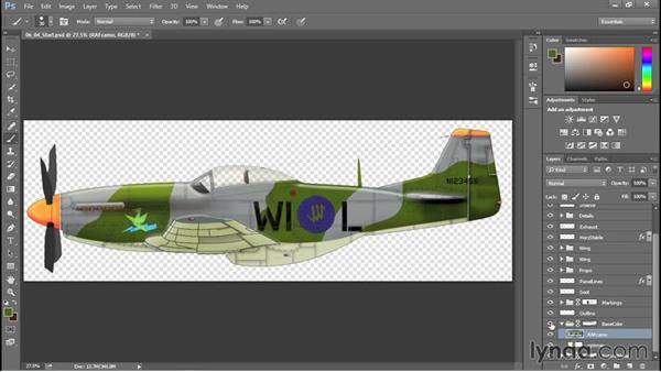 Alternative camouflage workflow: Creating Aircraft Profiles with Adobe Illustrator and Photoshop