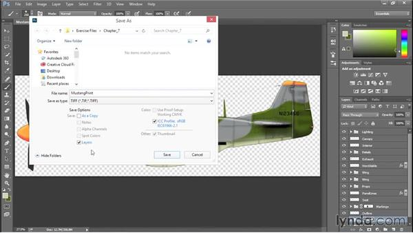 Exporting for print: Creating Aircraft Profiles with Adobe Illustrator and Photoshop
