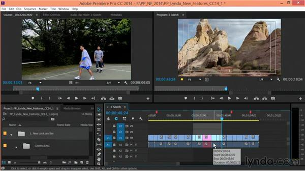 Timeline in and out improvements: Premiere Pro: Creative Cloud Updates