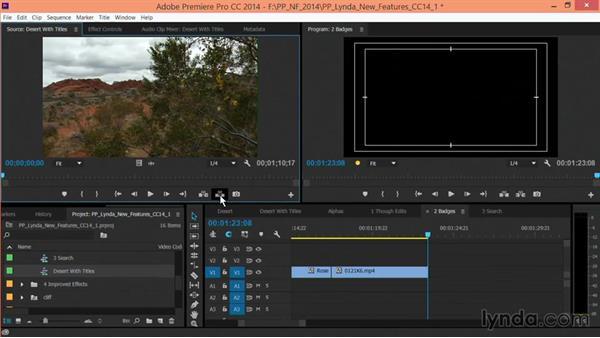 Using a Timeline as a source: Premiere Pro: Creative Cloud Updates