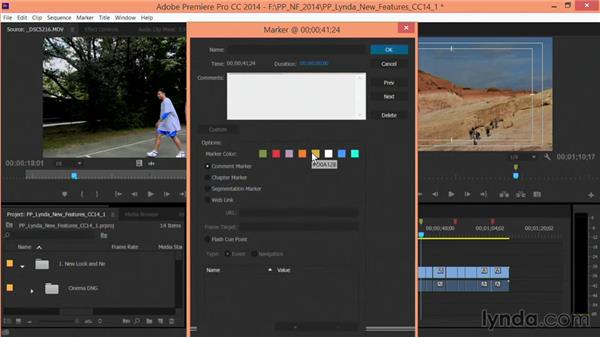 Improved markers: Premiere Pro: Creative Cloud Updates