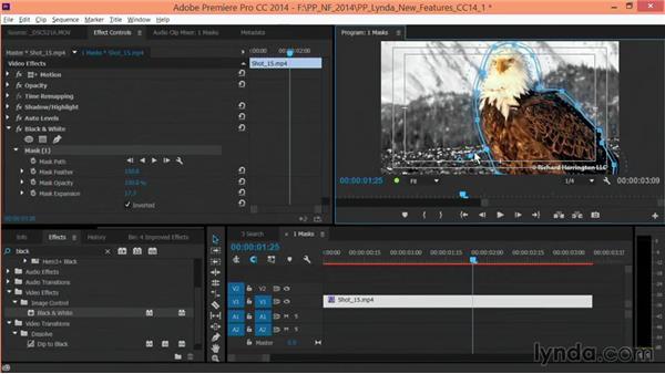 Feathering masks: Premiere Pro: Creative Cloud Updates