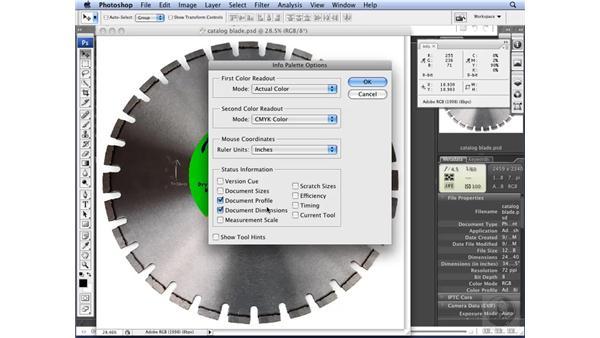 Identifying image resolution: Photoshop CS3 for Designers