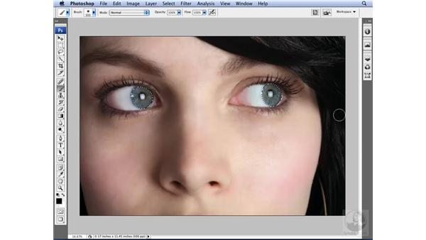 Making selections in Quick Mask mode: Photoshop CS3 for Designers