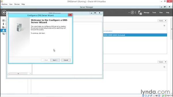 Installing a DNS server: Deploying and Configuring Core TCP/IP Services